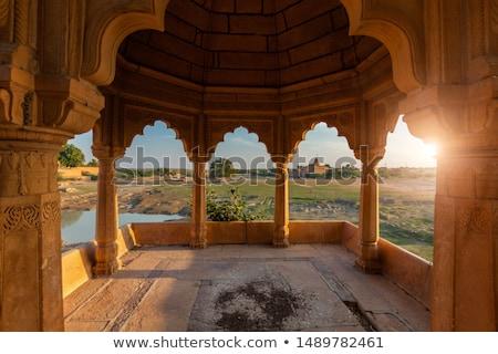 Lago Índia decorado cenário arco Foto stock © dmitry_rukhlenko