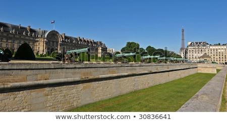 Cannon des Invalides in Paris Stock photo © Musat