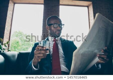Macho vent gezicht sexy lichaam naakt Stockfoto © zurijeta