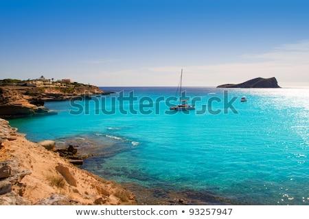 cala conta ibiza in san antonio beach stock photo © lunamarina