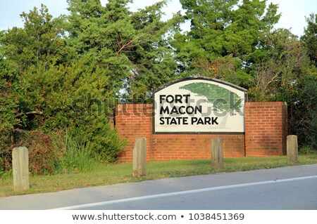 Fort Macon Stock photo © piedmontphoto