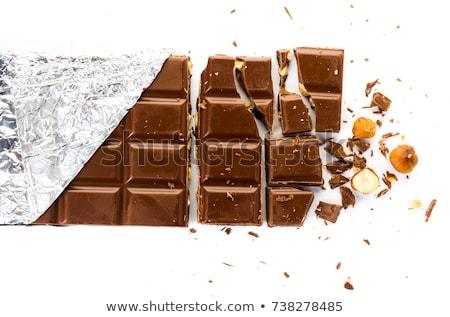 delicioso · chocolate · barras · projeto · fundo - foto stock © designsstock