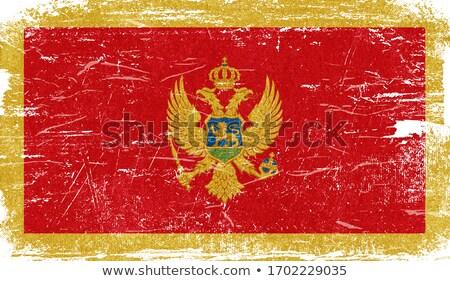 Grunge Flag the Montenegro Stock photo © HypnoCreative