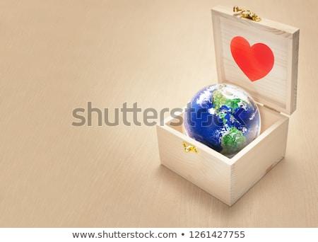 地球 · 白 · テクスチャ · 地図 · 世界 · 芸術 - ストックフォト © rufous