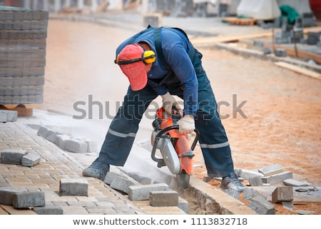 Noise on a construction site Stock photo © photography33