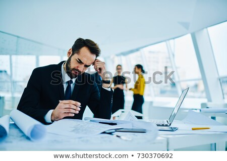 Architect drafting report Stock photo © photography33