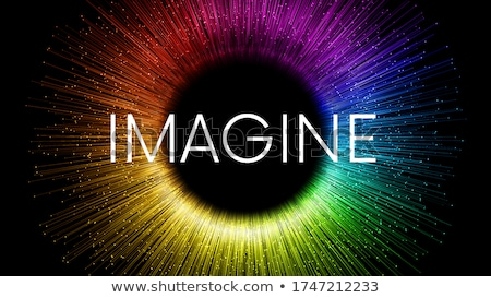 Imagine word Stock photo © raywoo