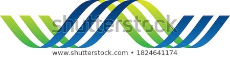 Eco symbol with helix Stock photo © MONARX3D