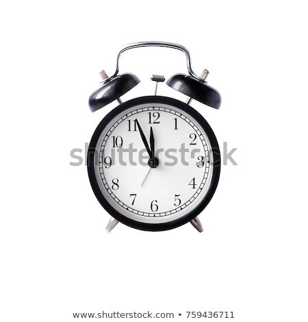 Alarm clock isolated against a white background Stock photo © wavebreak_media