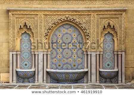 Moroccan fountain Stock photo © trgowanlock