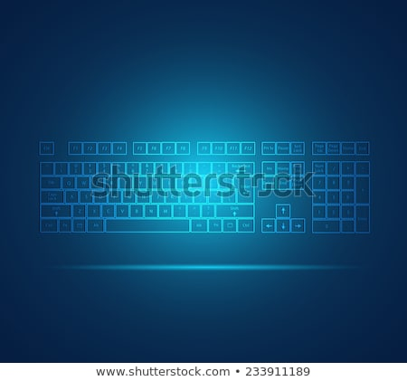 キーボード アイコン コンピュータのキーボード 技術 作業 ストックフォト © ra2studio
