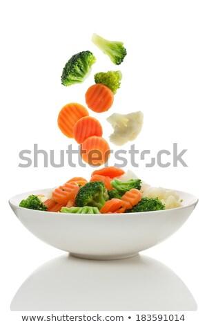 Broccoli carrot salad stock photo © doupix