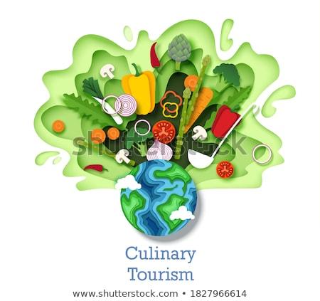 Vegetarian Cuisine Stock photo © Lightsource