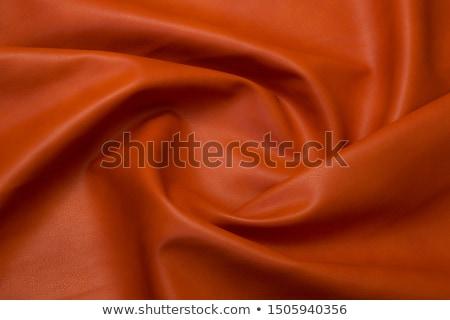 piros · narancs · bőr · vibráló · textúra · absztrakt - stock fotó © homydesign