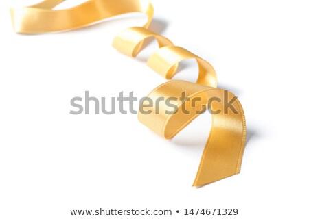 holiday background with satin ribbon Stock photo © illustrart