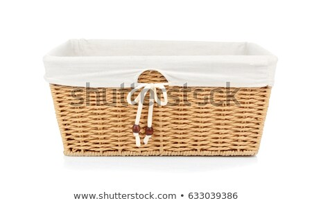 Chleba wiklina koszyka stół kuchenny śniadanie Zdjęcia stock © stevanovicigor