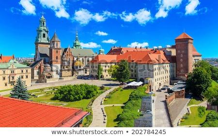 замок · Краков · Польша · город · фон - Сток-фото © joyr