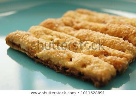Печенье · пластина · корицей · дерево · таблице · звездой - Сток-фото © sfinks