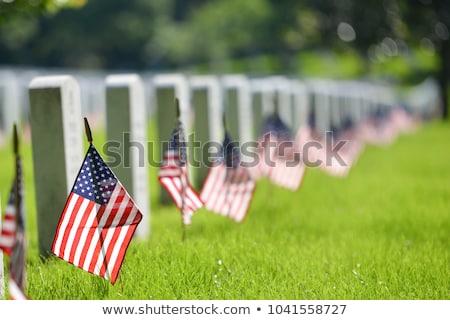 Military Cemetery Stock photo © lorenzodelacosta