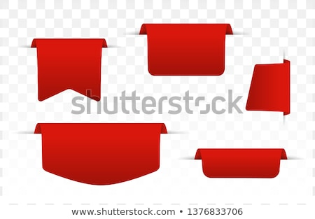 hot deals red vector icon button stock photo © rizwanali3d