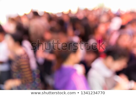 Blur Crowd of People, Referendum Concept Stock photo © stevanovicigor