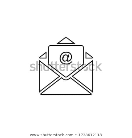 e mail internet stylized symbol Stock photo © blaskorizov