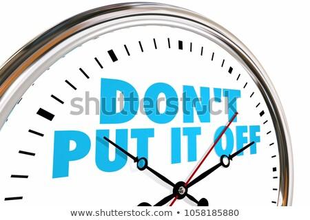 Agir agora mensagem internet tecnologia nota Foto stock © fuzzbones0