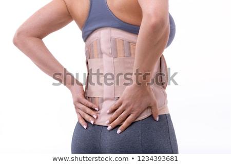 corset isolated on white Stock photo © ozaiachin