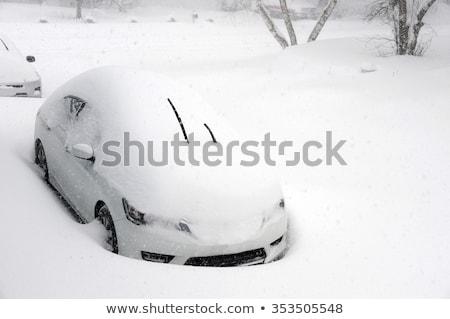 Sneeuw winter textuur abstract ontwerp achtergrond Stockfoto © Kotenko