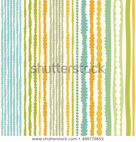 Happy easter knitted card, vector illustration Stock photo © carodi