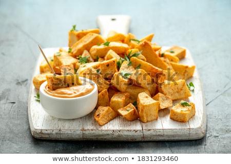 Meze patates sos tipik stüdyo Stok fotoğraf © jarp17