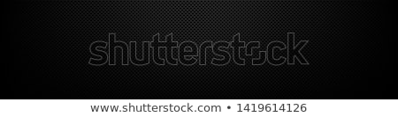 Stock photo: Carbon fiber background, black texture