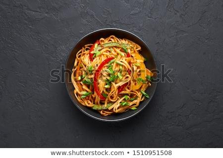 chinese noodles Stock photo © M-studio