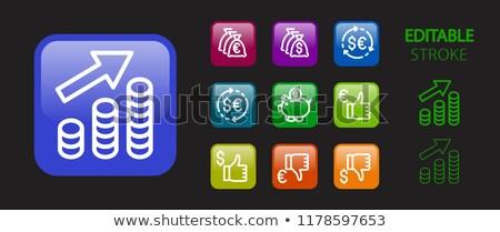 Estrategia de negocios botón 3D moderna seleccionado Foto stock © tashatuvango
