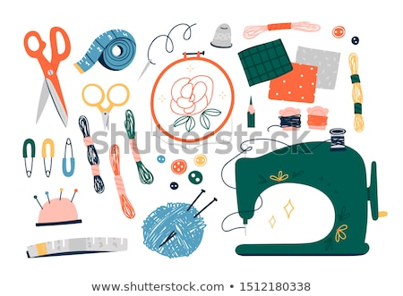 Sewing Elements Stock photo © lenm