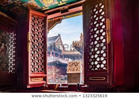 Tibetan window Stock photo © bbbar