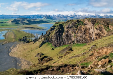 Deserted summer landscape in Iceland Stock photo © Kotenko