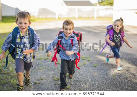 students are playing at playground stock photo © bluering