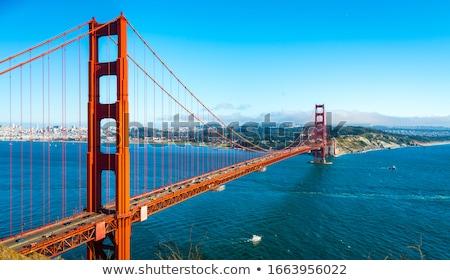 霧 ゴールデンゲートブリッジ 塔 サンフランシスコ カリフォルニア 米国 ストックフォト © yhelfman
