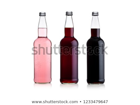rosa · sosa · limonada · cola · blanco - foto stock © DenisMArt