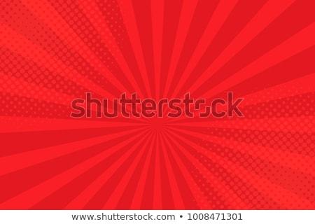 Vermelho estrelas abstrato decorativo padrão textura Foto stock © Glasaigh