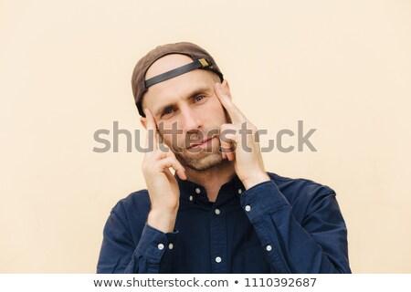 率直な ショット 魅力的な 男性 ルックス カメラ ストックフォト © vkstudio