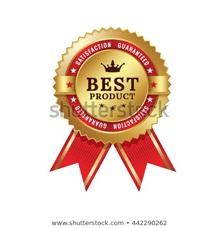 Certificate of Guarantee, Best Product Vector Stock photo © robuart