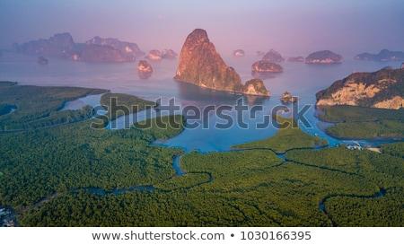 Park Thaiföld nyár nap tengerpart tájkép Stock fotó © bloodua