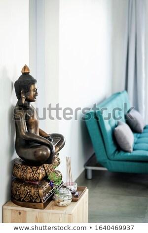 Buda anlamaya arka plan sanat seyahat taş Stok fotoğraf © leeser