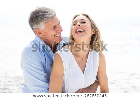 Mature couple laughing together Stock photo © photography33
