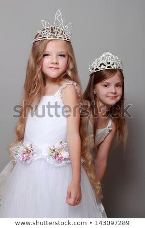 cute · piccolo · principessa · ritratto · felice - foto d'archivio © photography33