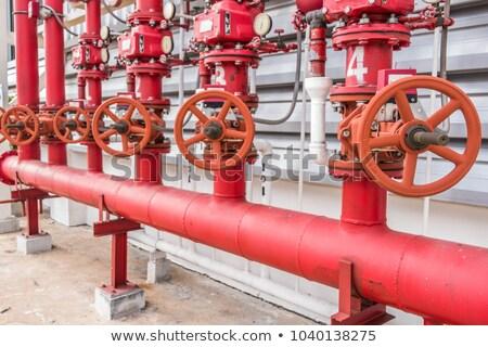 Fire Sprinkling System Stock photo © manfredxy