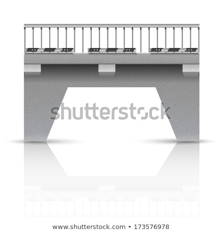 Concrete Bridge Railing Stock photo © bobkeenan