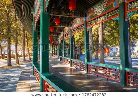 long corridor Stock photo © filmstroem